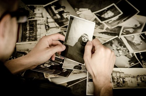 photograph's message is dependent upon the person looking